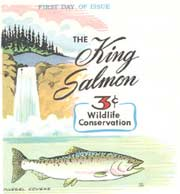 King Salmon Stamp First Day of Issue Celebration materials
